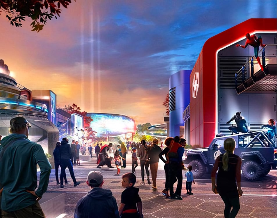 Disneyland Paris – Marvel Vision